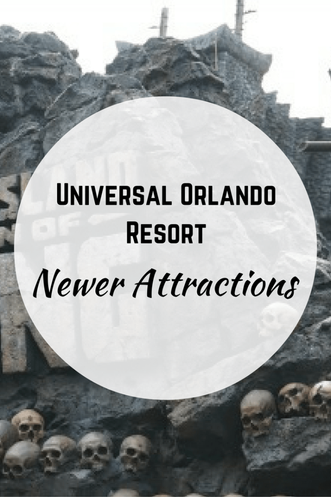 Newer Attractions at Universal Orlando Resort.