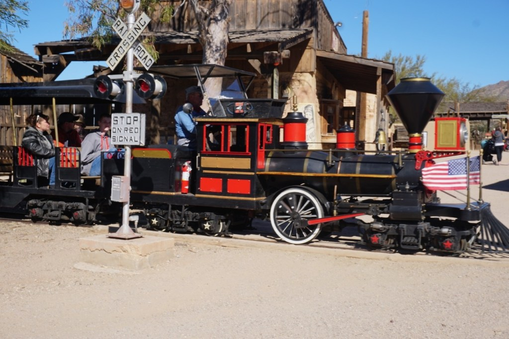 The train is one of the reasons to visit Old Tucson Studios with your family.