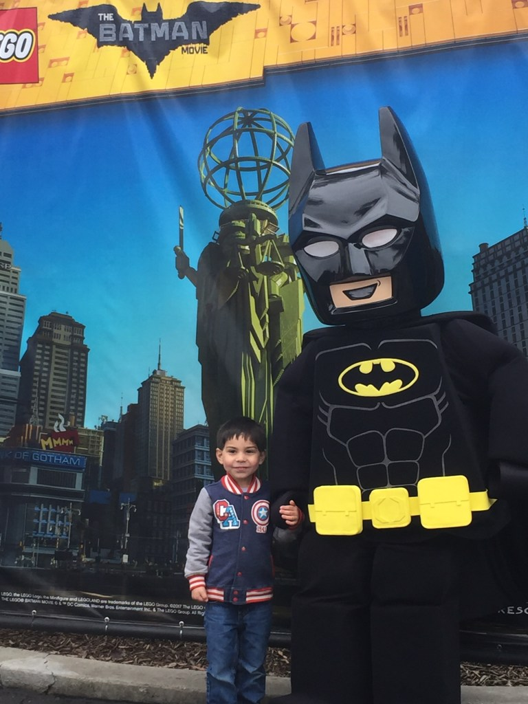 Meeting LEGO Batman is one of the reasons to experience LEGO Batman Movie Days at LEGOLAND California.