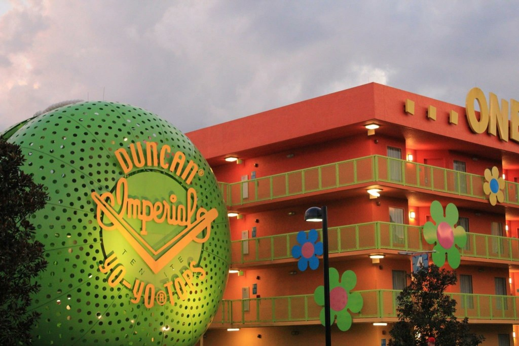 Trying to stay within a certain budget? Disney's Pop Century Resort is a value resort that has a fun vibe for kids and a nostalgic vibe for parents!