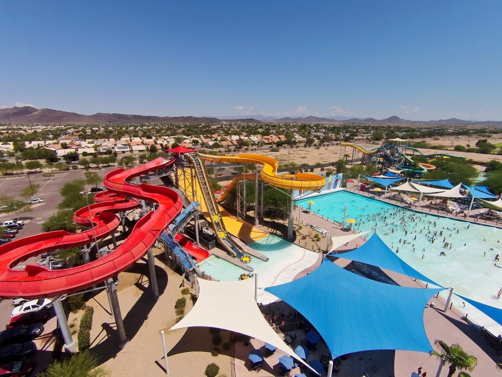 Keep reading to win 4 tickets to Wet 'n' Wild in Phoenix! Photo provided by Wet 'n' Wild.