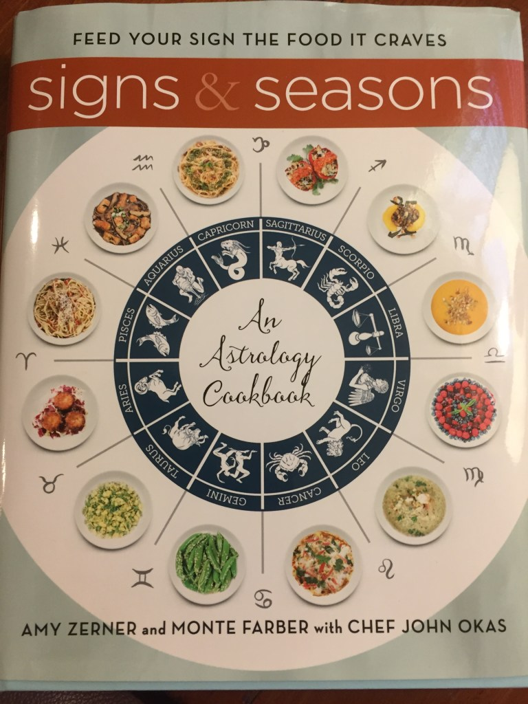 A book review for Signs and Seasons: An Astrology Cookbook.
