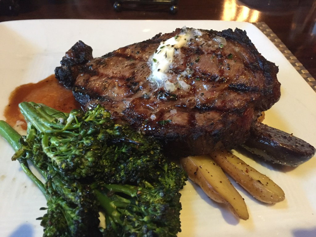 The Twice Cooked Prime Ribeye is delicious!