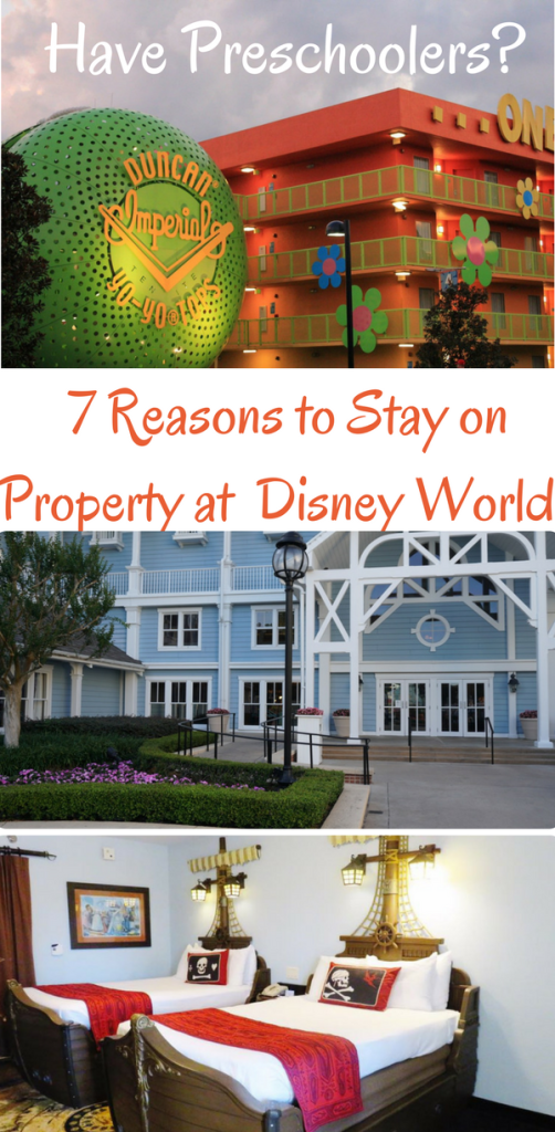 Have Preschoolers? 7 Reasons to Stay on Property at Disney World. Photos by Kristi Mehes and Kathy Williamson Penney.