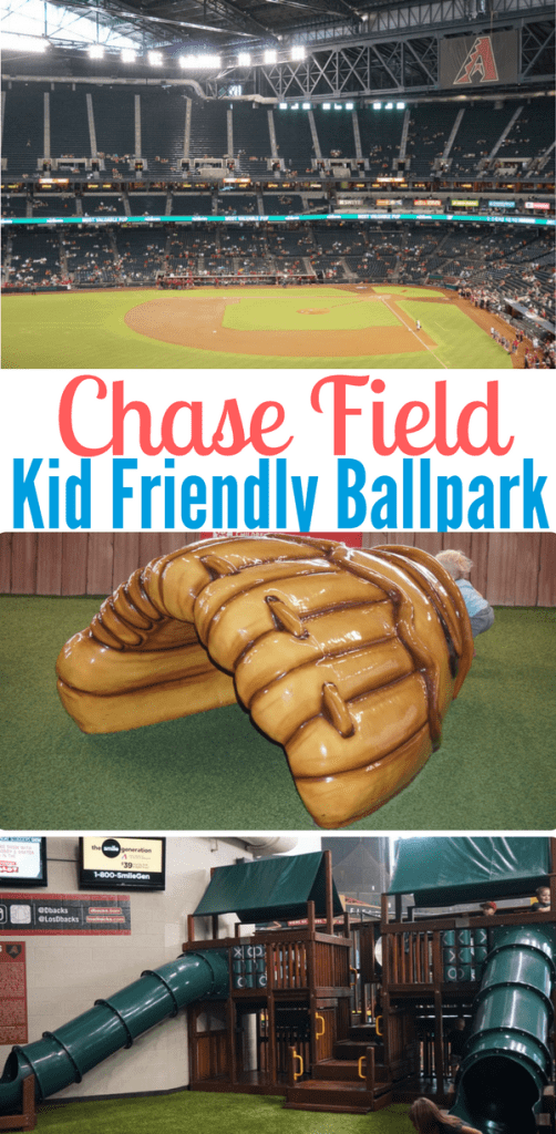 If you're looking for a kid friendly ballpark, Chase Field should be high on your list. It's very affordable for families, beginning with free membership to the Kids Club and separate play areas for different age ranges.