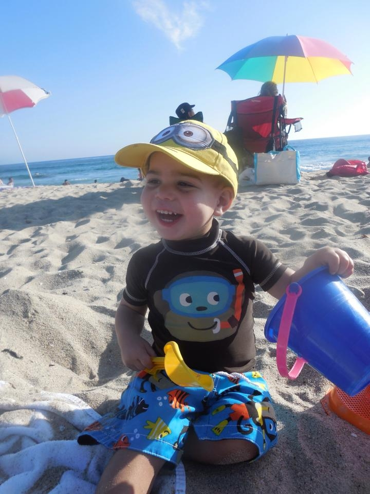 I try to take my son to the beach once a year in San Diego. It's his favorite activity and one of the amazing things to do in San Diego with kids!