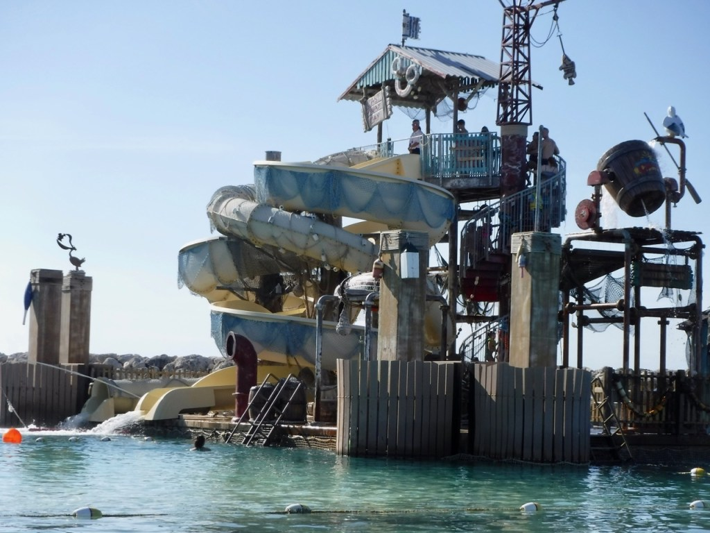 A day at Disney's Private Island, Castaway Cay, includes Pelican Plunge.