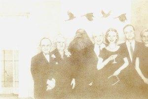 Family Flight, pencil by Susan Drucker