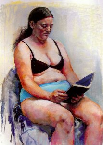 If You Knew Me, pastel by Patricia Schappler
