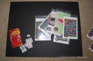 supplies for pattern board