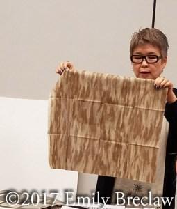Yoko Saito's Centenary 23 fabric- brown for bark