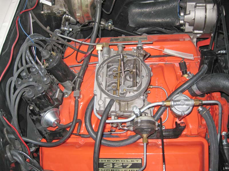 327 Chevy Distributor Cap Wiring Diagram My 1964 Impala Restoration Page 10