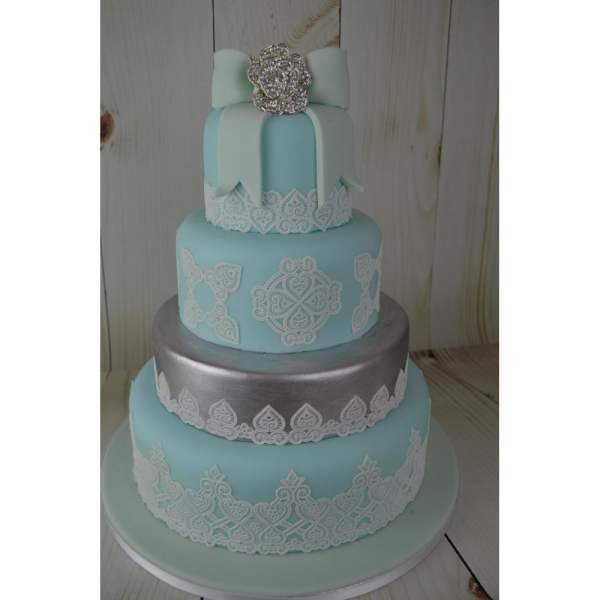 Cake Lace Juliet Design - Ready Pearl