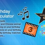 Birthday Calculator Day Of Birth Exact Age Music And Movie No1s