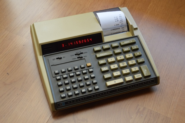 Hp 97 Calculator With Printer And Cards Thecalculatorstore