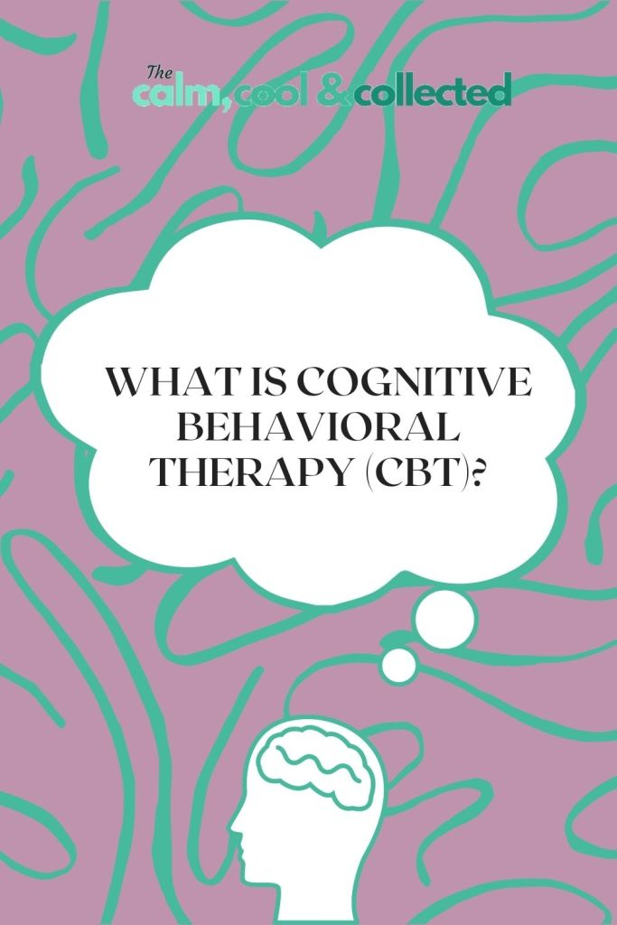Cognitive Behavioral Therapy pin 2