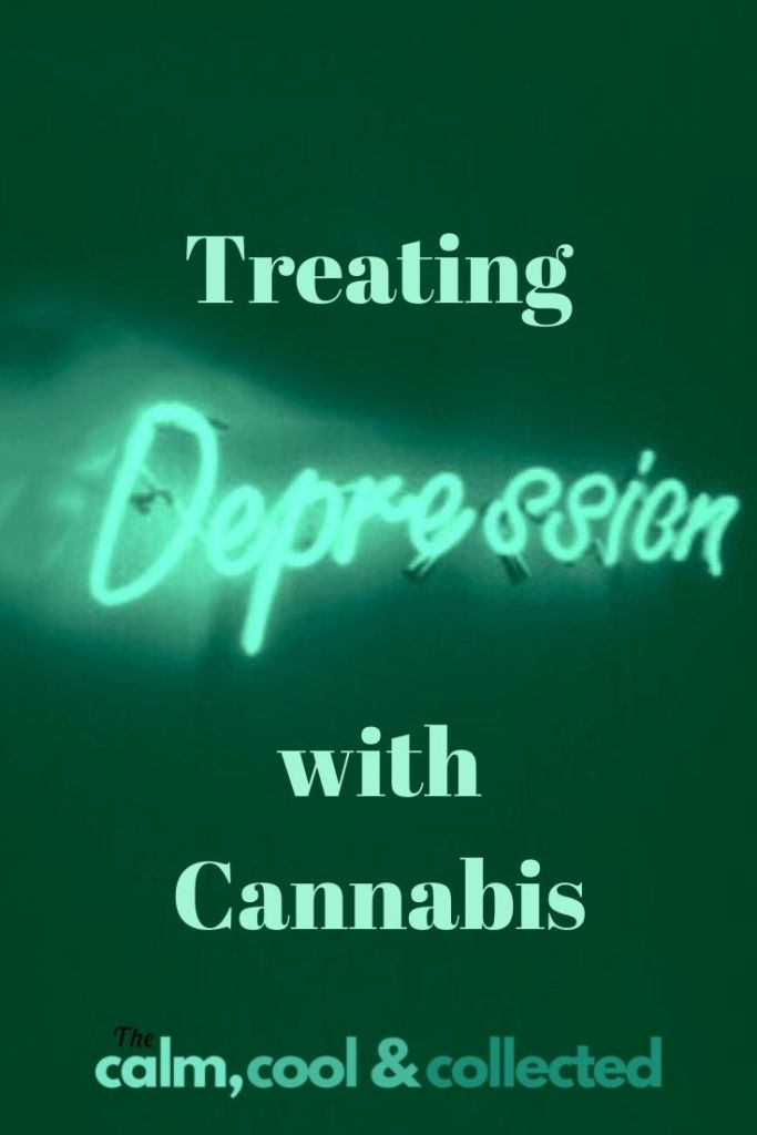 Treating Depression with Cannabis pin 3
