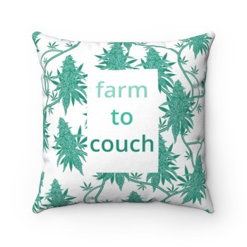 THE CALM, COOL & COLLECTED <br> Farm to Couch Pillow
