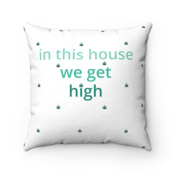THE CALM, COOL & COLLECTED <br> House Rule Pillow