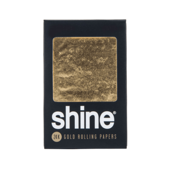 SHINE <br> King Size 24K Gold Rolling Papers