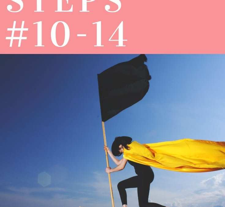 New Progress: Toolbox Steps 10 – 14
