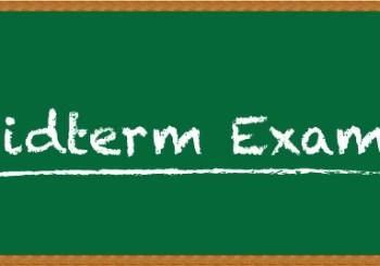 Upper School Midterm Exams