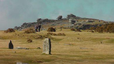 Stone circle, Dartmoor