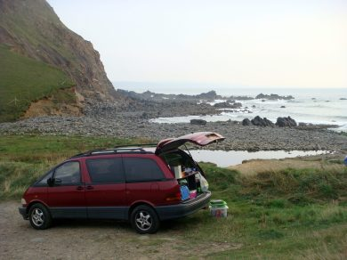 Beach Picnic, Cornwall