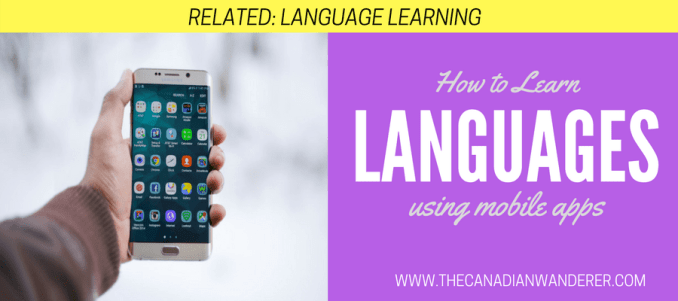Language Learning using Mobile Apps