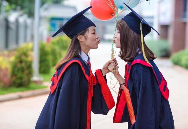 Graduating Friends