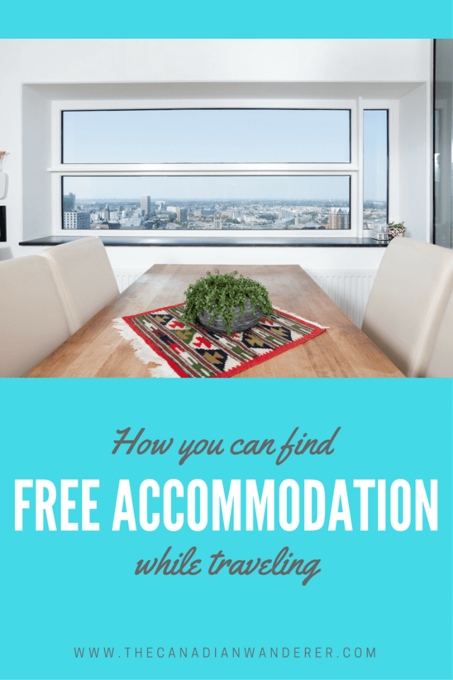 How to find Free Accommodation while traveling   Living Abroad   Travel   Affordable