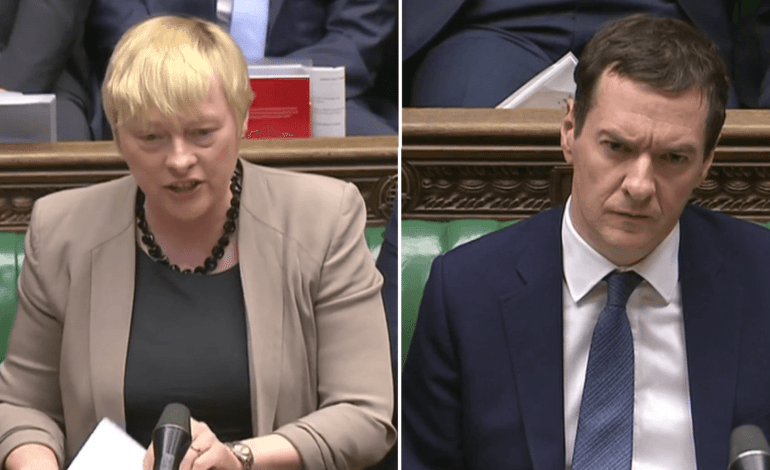 Watch Labour's Angela Eagle make mincemeat of Osborne at PMQs (VIDEO)