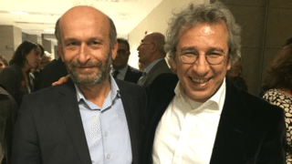 ournalists Erdem Gulwere and Can Dundar