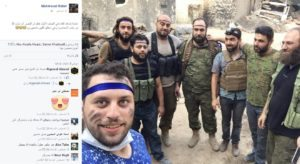 Raslan Facebook 5 August upload with Zenki men