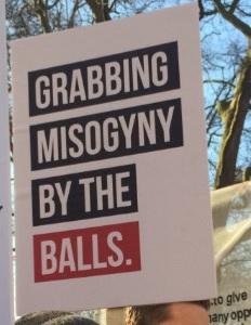 Grabbing misogyny #WomensMarch