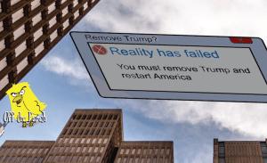Error message above America