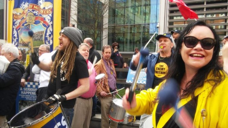 Orgreave Drummers