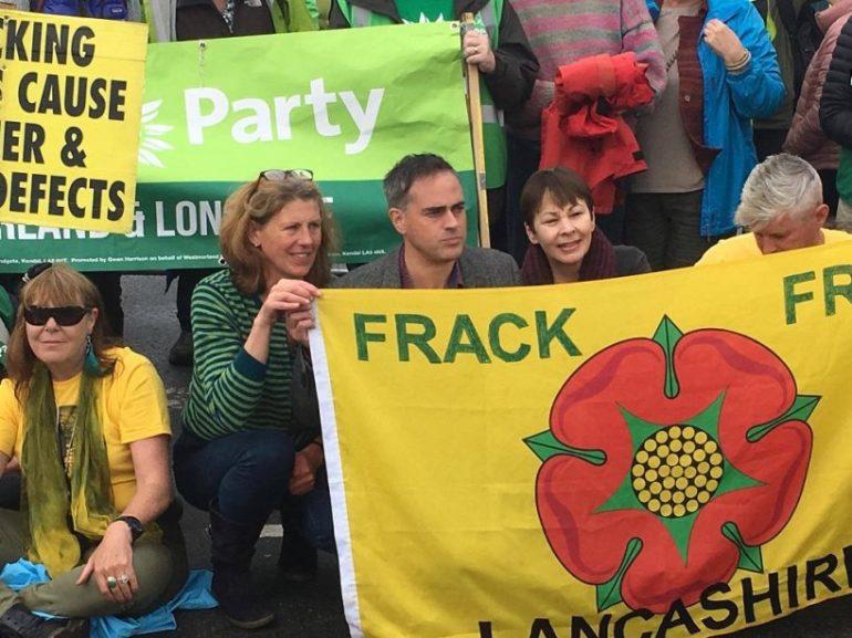 Greens Fracking One