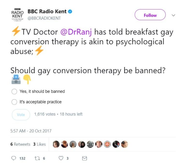 BBC Radio Kent Gay Conversion