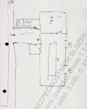 Mawby's handwritten floorplans (via BBC)