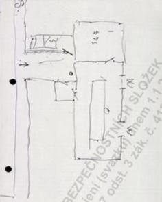 Mawby's handwritten floorplans (via BBC)