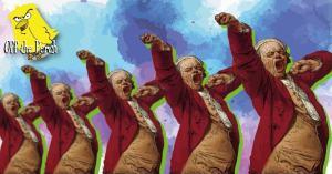 Yawning men