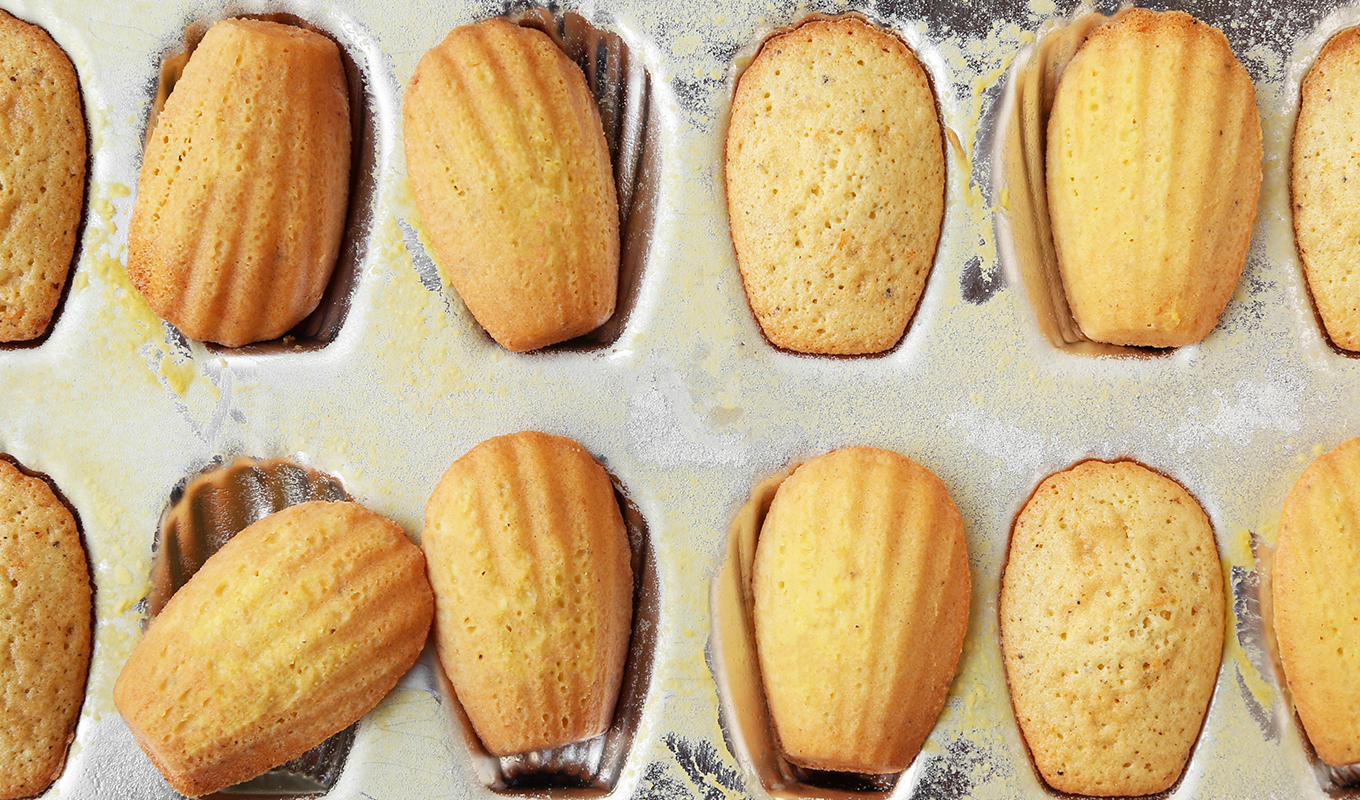 The Classics: Brown Butter Orange Madeleines