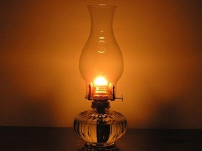 Awesome Oil Lamp burning