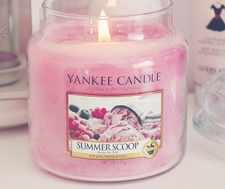 Yankee Candle Summer Scoop Jar Candle