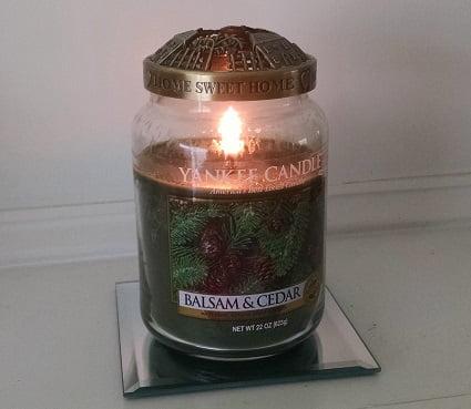 Yankee Candle Balsam and Cedar Jar