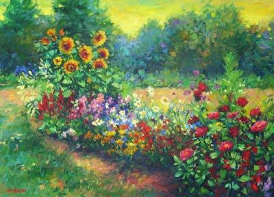 Summmer time garden