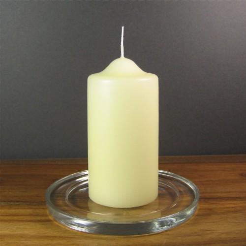 Bolsius Candles 10cm X 5cm Ivory Pillar Church Candles
