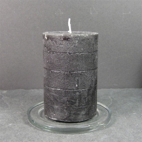 Broste Candles 10cm X 7cm Dark Brown Solid Colour Rustic