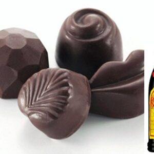 Kahlua liqueur truffles